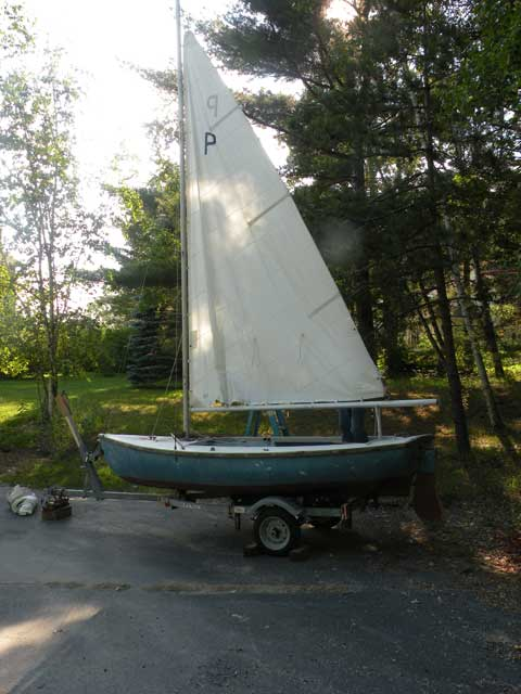 O'Day Puffin, 14', 1960's sailboat