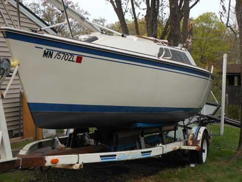 O'day 222, 1986 sailboat