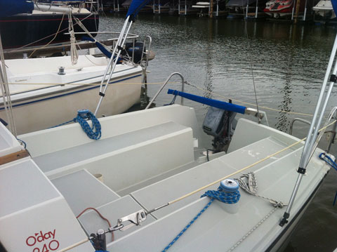 O Day 240 1988 Grapevine Texas Sailboat For Sale From