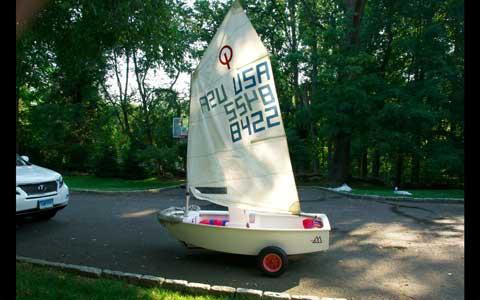McLaughlin Optimist, 1998 sailboat
