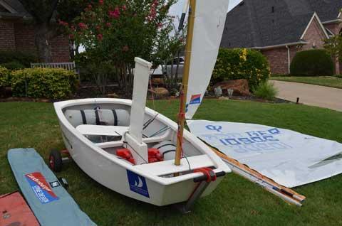 Optimist, Southlake, Texas, 2001 sailboat