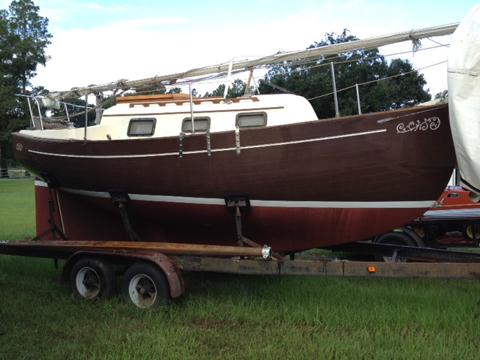 Pacific Seacraft Flicka 20', 1979, New Orleans, Louisiana sailboat