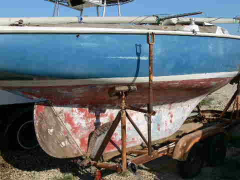 Pearson Ensign, 22', 1965, Richardson, Texas, (Dallas area sailboat
