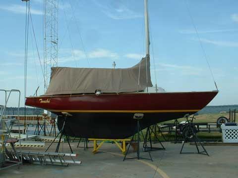 Pearson 22 Ensign, 1964, Lake Lewisville, Texas sailboat