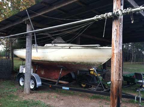 Pearson Ensign 22', Loxley, Alabama sailboat