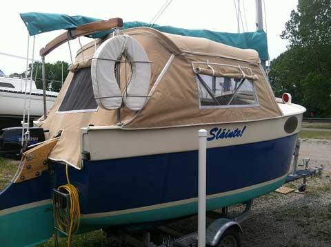 Florida Bay Peep Hen, 14', 1986 sailboat