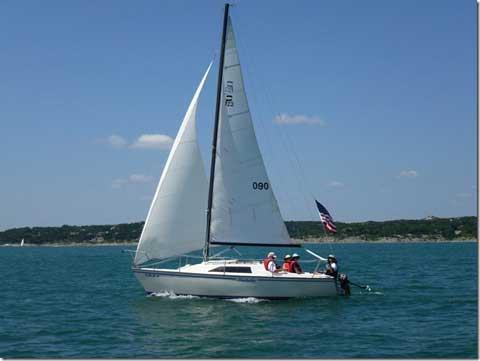 Precision 23, 1987, Canyon Lake, Texas sailboat