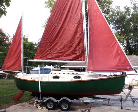 Rob Roy 23' Yawl, 1984, Houston, Texas sailboat