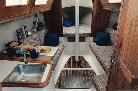 S2 27 (Tierra Sailboat), 1986, Joe Pool Lake, Grand Prairie, Texas sailboat