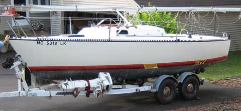 S2 6.7 Grand Slam, 22ft, 1981 sailboat