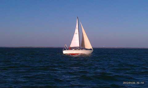 S2 8.0, 1980 sailboat