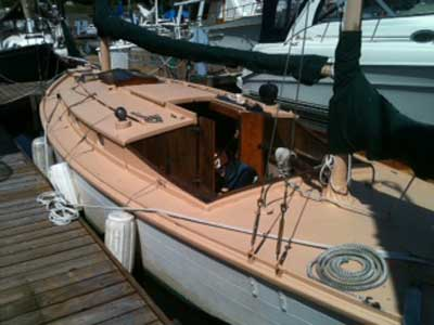 Tarps For Sale >> Seabird Yawl, 34 ft., 1933, Olympia, Washington, sailboat for sale from Sailing Texas