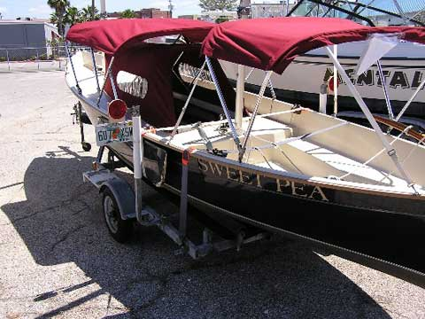 Seapearl 21, 1992 sailboat