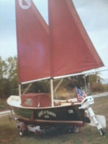 1986 Sea Pearl 21 sailboat