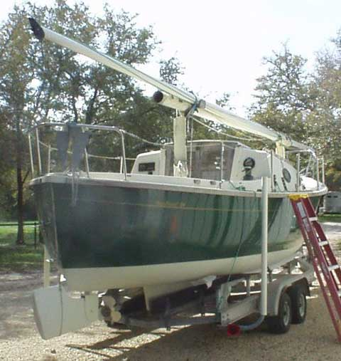 Seapearl 28, 1992, Salado, Texas sailboat