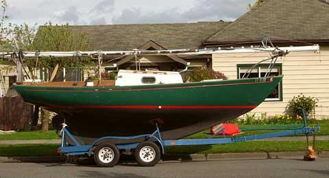 Sea Sprite 1984 23 Orcas Island Washington Sailboat