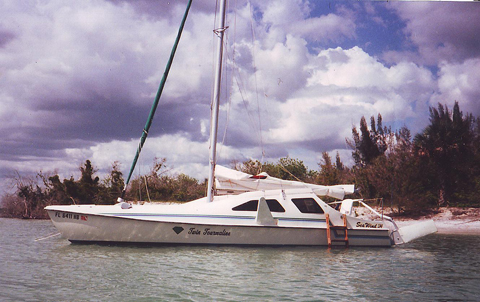 Seawind 24 Catamaran, 1988 sailboat