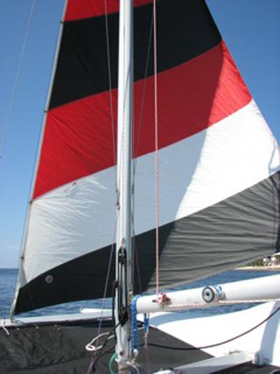 Seawind 24 catamaran, 1987, Shell Point, Florida sailboat