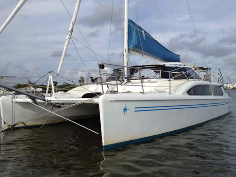 Seawind 1000, 36 ft., 1995, South Florida sailboat