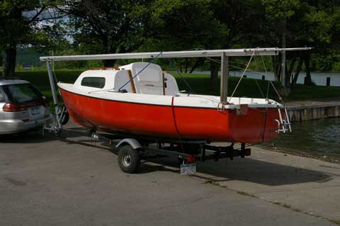 Siren 17, 1974 sailboat