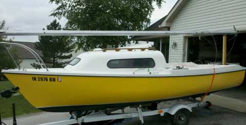Siren 17', 1976 Bloomington, Indiana  sailboat