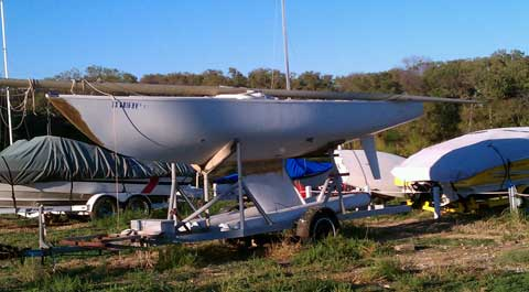 Soling, 1971, Oak Point (Dallas), Texas sailboat