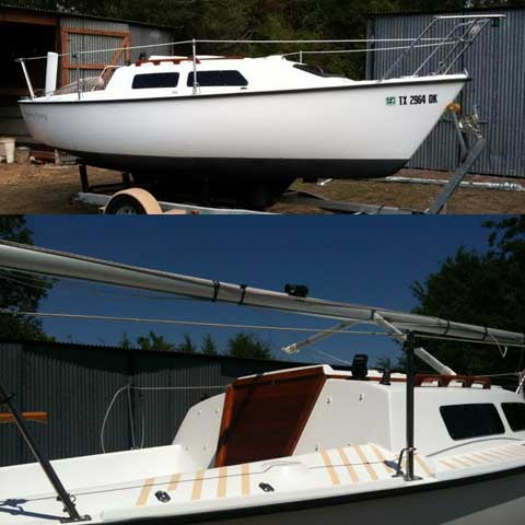 Starwind 19 1986 Lake Somerville Texas Sailboat For