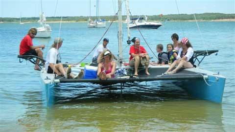 Stiletto Catamaran, 23', 1984, Grapevine, Texas sailboat