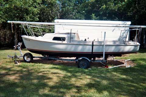Stuart Mariner 19 Ft., 1989, Angleton, Texas sailboat