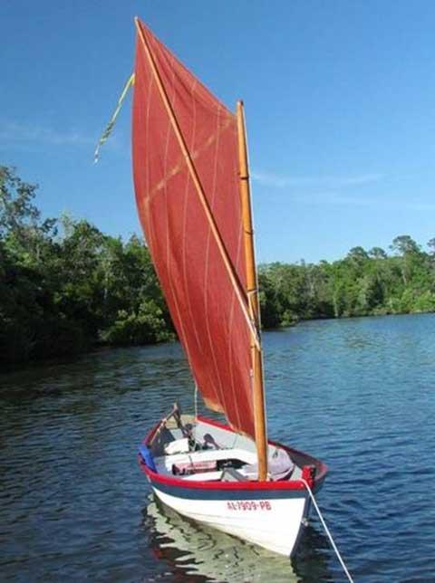 Swampscott Dory, 16', 1982, SW Michigan sailboat