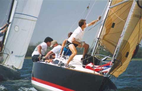 Tartan Pride 270, 1986 sailboat