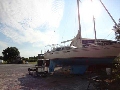 US Yacht Pilot House 42', 1981, Chaumont, New York sailboat