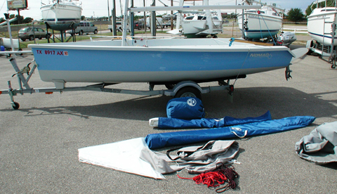 Vanguard Nomad, 2009, Lewisville, Texas sailboat