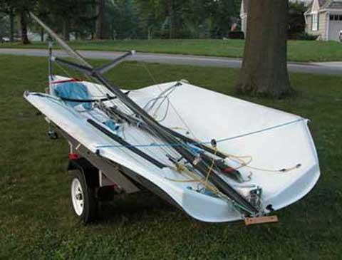Vanguard Vector 16', 2000 sailboat