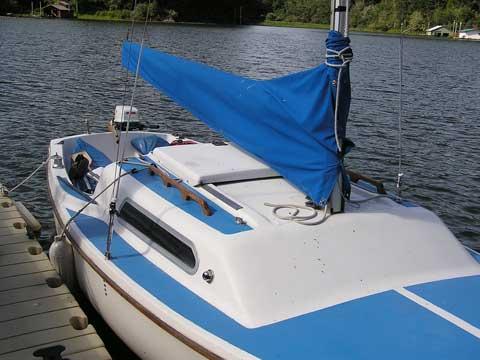 Bow Of A Boat >> MacGregor Venture 21', 1968, Waldport, Oregon, sailboat ...