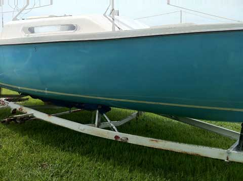 Venture 21, 1971, Santa Fe, Texas sailboat