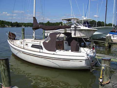 Watkins 27ft., 1980, Essex, Maryland sailboat