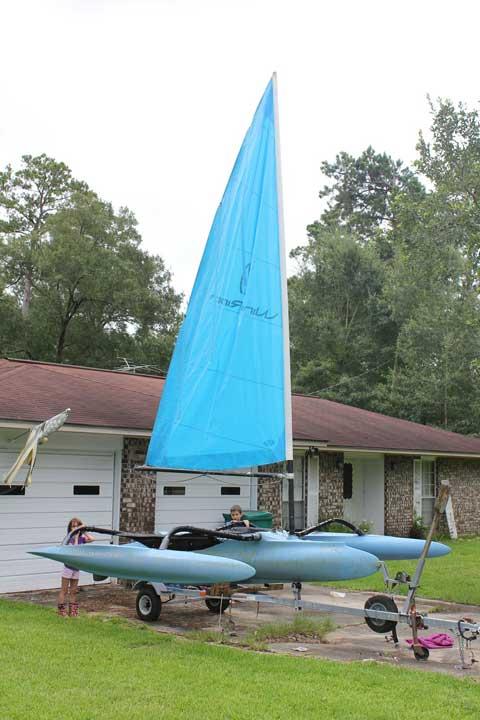 Windrider 16 Trimaran, 1998, Ponchatoula, Louisiana sailboat