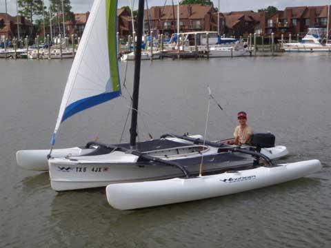 Windrider 17 Trimaran, 2002 sailboat