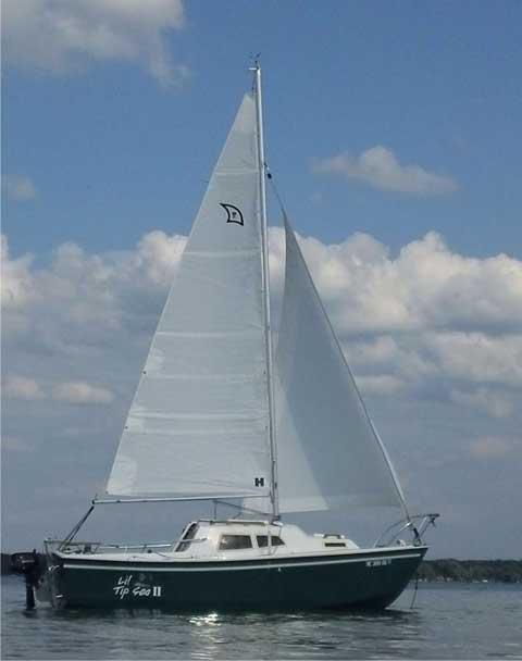 West Wight Potter 19, 1997, Nunica, Michigan sailboat
