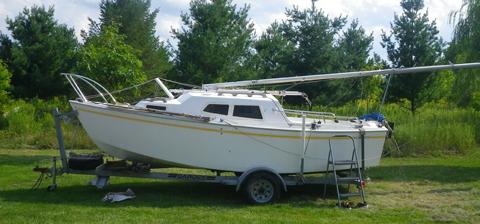 West Wight Potter 19, 1996, Langsburg, Michigan sailboat