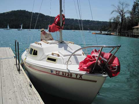 West Wight Potter 19', 1998, Sierra Foothills, Grass Valley, California sailboat