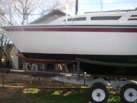 North American Spirit 23 1977 Austin Texas Sailboat For