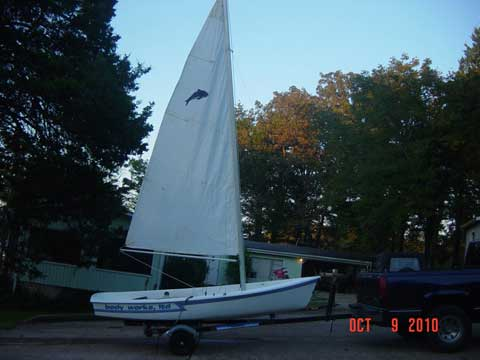 AMF Puffer 12 ft, 1982 sailboat