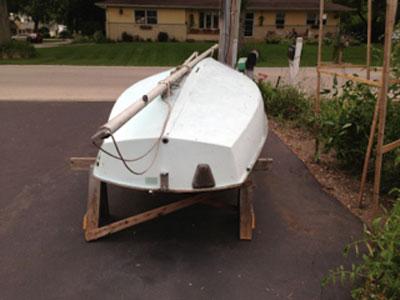 AMF Alcort Puffer sailboat