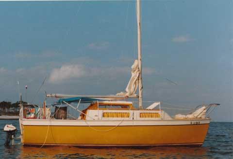 Aquarius 23, 1974, Baton Rouge, Louisiana sailboat