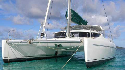 Fountaine Pajot Athena 38, 1998, Marathon, Florida key sailboat
