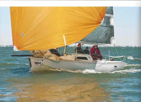 B25, 25ft., 1993 sailboat