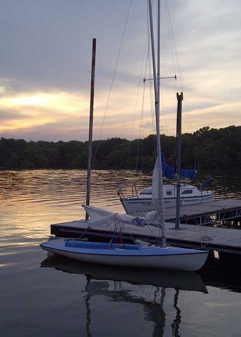 Banshee 13 ft., 1976 sailboat