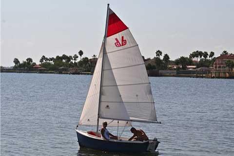 Bauer sailing dinghy, 2002, Port Isabel, Texas sailboat